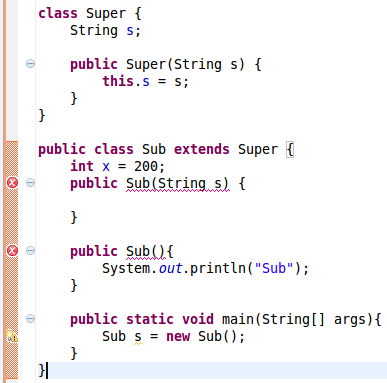 Implicit-super-constructor-is-undefined-for-default-constructor